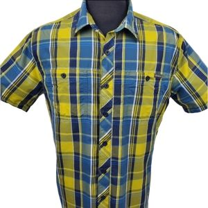 Eddie Bauer Casual Outdoor Button Up Shirt Size TL